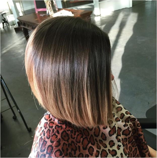 lovely angled bob haircuts