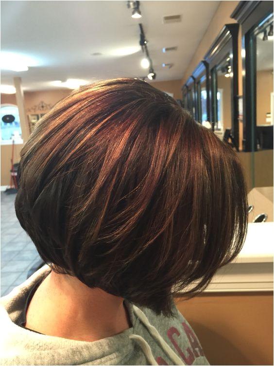 caramel hair color highlights for short hair