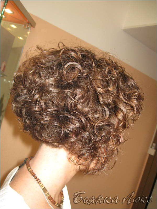 Bob Haircut with Perm 1