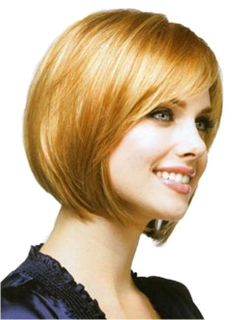 10 short bob hairstyles with side swept bangs