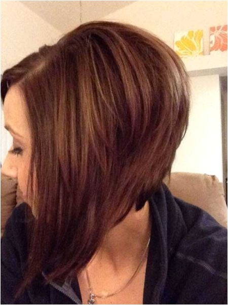 the elegant as well as attractive long angled bob back view for dream