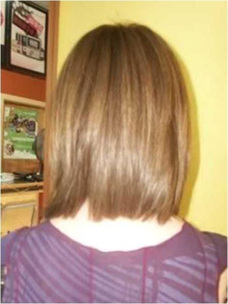 brilliant long bob haircuts back view with regard to head