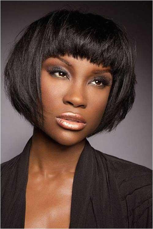 Bob Haircuts for African American Hair 15 Short Bob Haircuts for Black Women