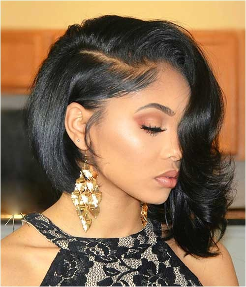 black bob haircuts for round faces
