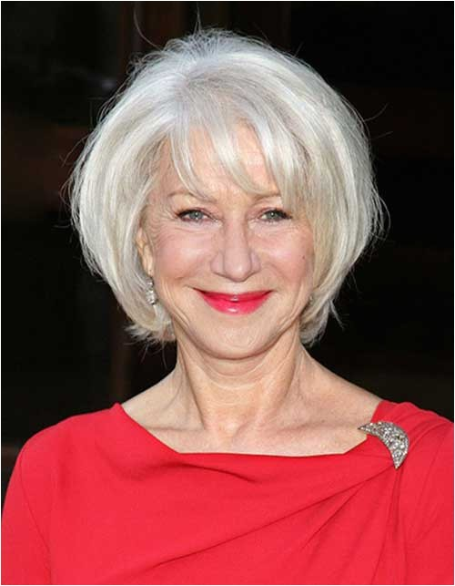 25 bob hairstyles for older women