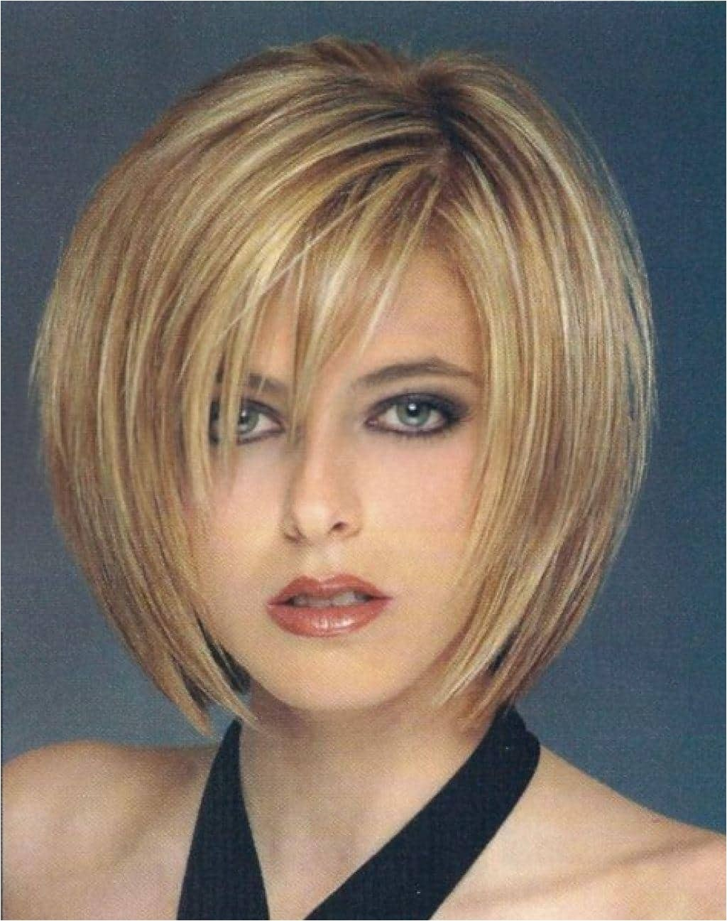 short bob haircuts thin hair