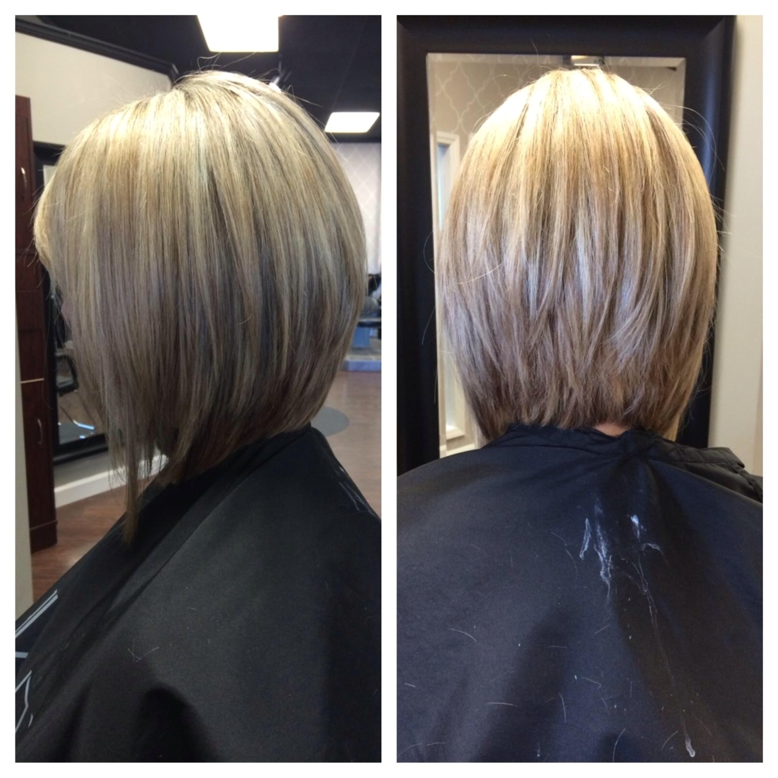 inverted bob pictures show front and back view