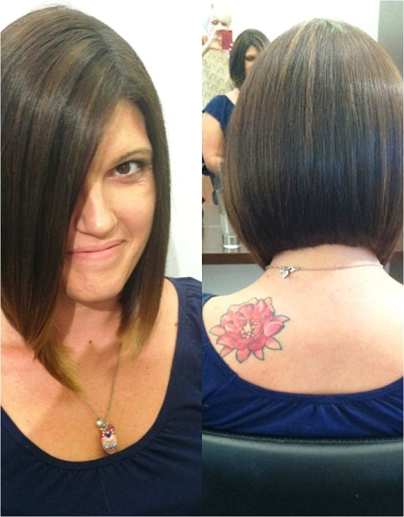 long bob haircut pictures front and back