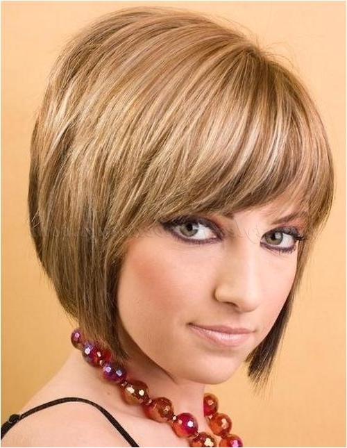 short layered bob hairstyles with fringe