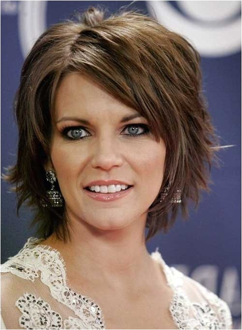 15 good layered bob with side bangs