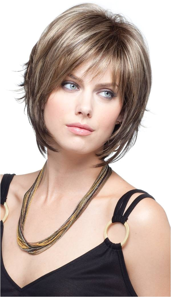 bangs and bobs for round faces