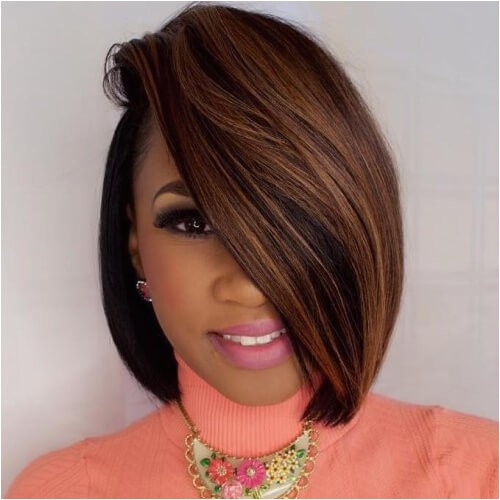 Bob Haircuts with Weave 50 Sensational Bob Hairstyles for Black Women