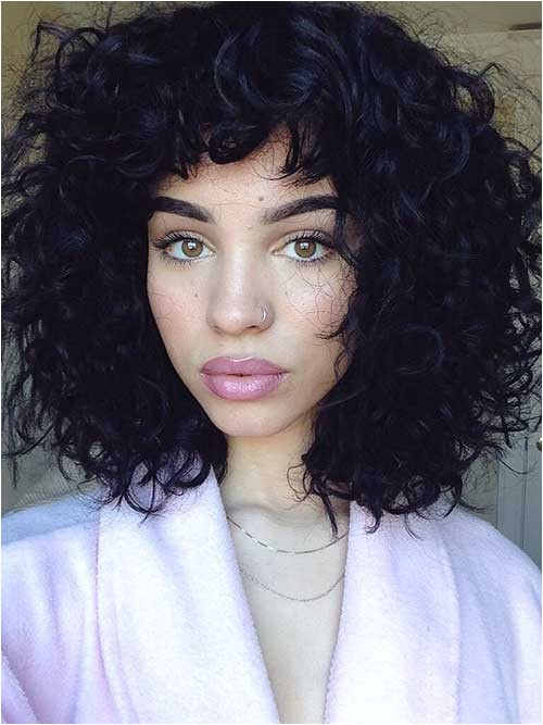 25 latest bob haircuts for curly hair