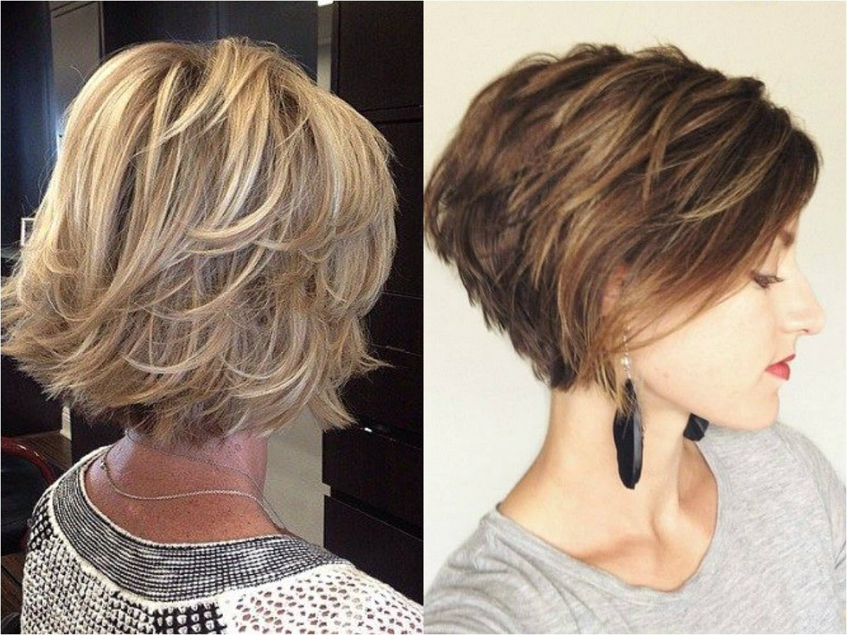 layered bob haircuts ideas thin hair