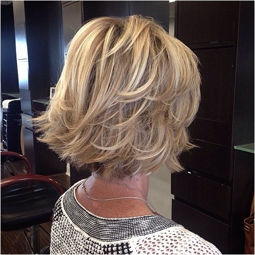 hairstyles shoulder length layered for over 50
