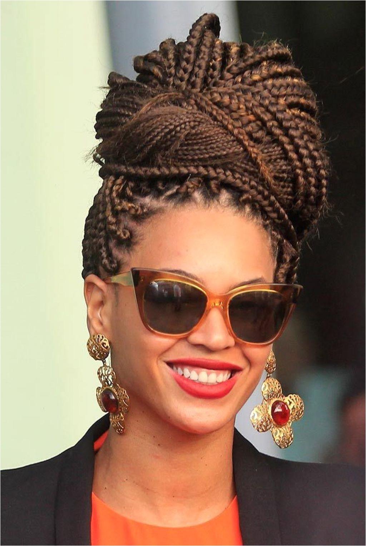 Box Braids Bun Hairstyles Ideas überprüfen Sie mehr unter braids bun hairstyles ideas