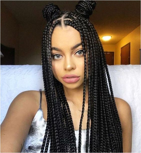 20 box braid hairstyles