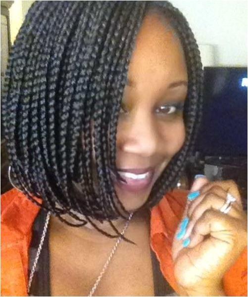 black braided hairstyles for medium hair