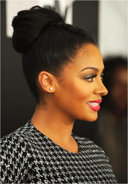 Braided Bun Black Hairstyles African American Braided Bun Updo Hairstyles Weekly