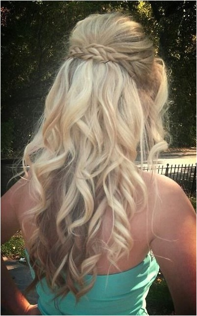 Braided Curly Hairstyles for Prom 15 Best Long Wavy Hairstyles Popular Haircuts