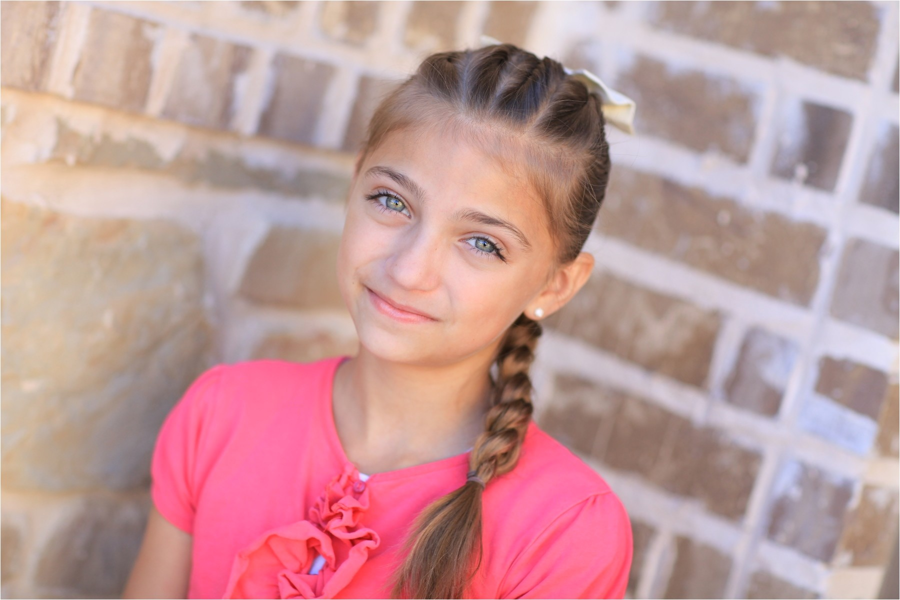pictures of 11 year old girls hair braids