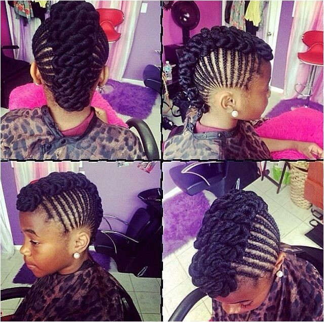 braided hairstyles for 11 year old black girls