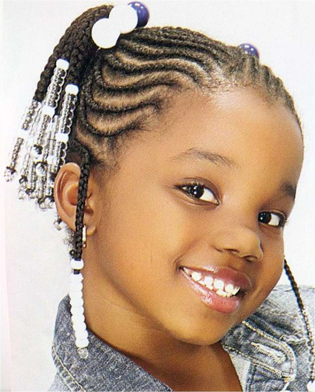 17 French Braid Hairstyles for Little Black Best and Awesome French Braid Styles for Black Hair