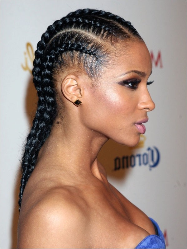 black braid hairstyles 2015