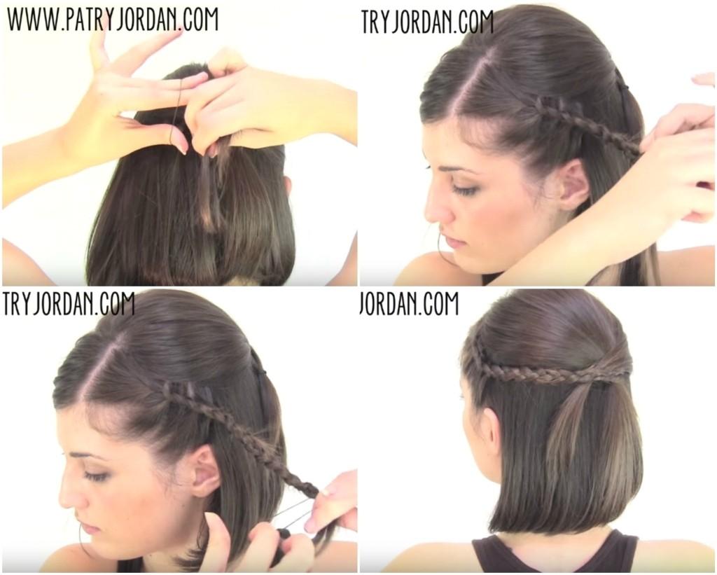 short hair easy hairstyles