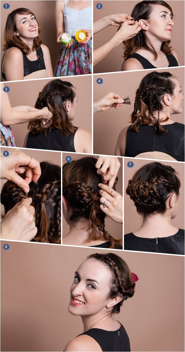 Braided Hairstyles for Short Hair Tutorials 20 Most Beautiful Braided Hairstyle Tutorials for 2014