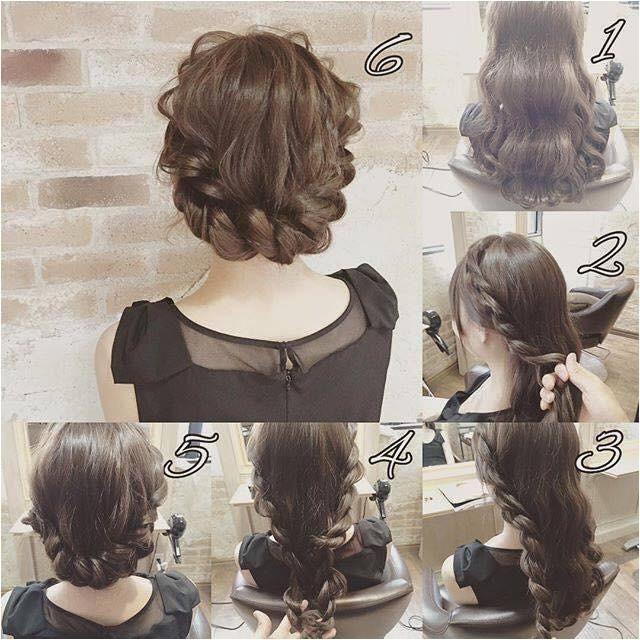 fashionable braid hairstyle shoulder length hair 2