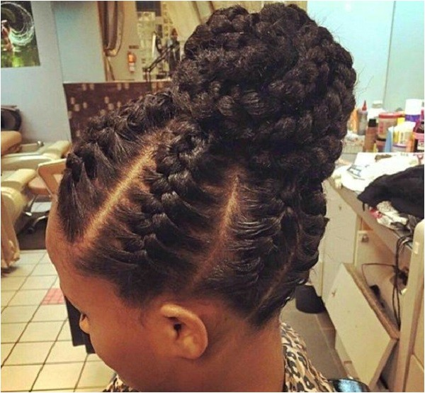 protective natural hairstyles for swimming