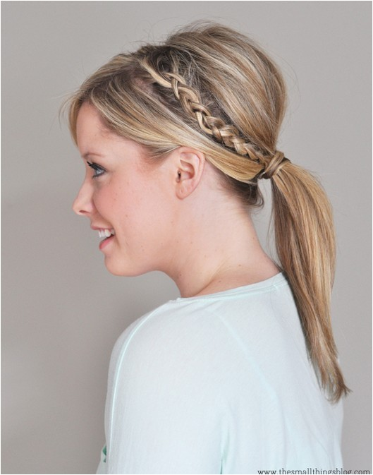 Braided Hairstyles In A Ponytail top 20 Braided Hairstyles Tutorials Pretty Designs