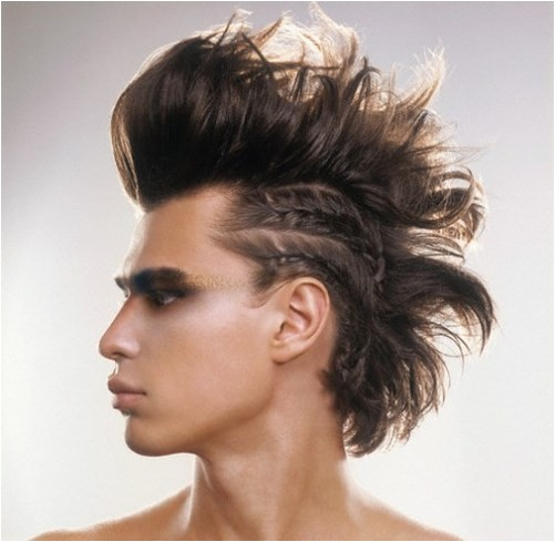 braided mohawk hairstyles men