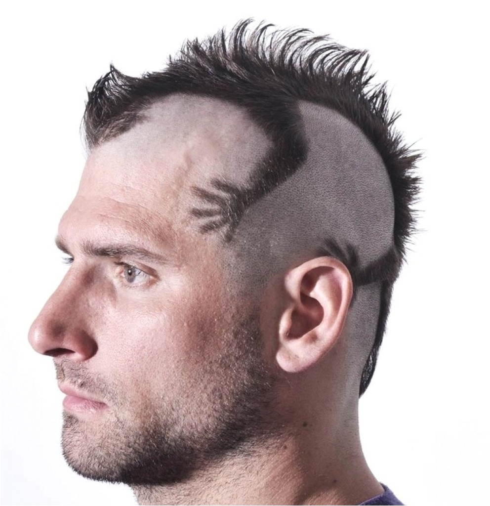 shaved mohawk hairstyles