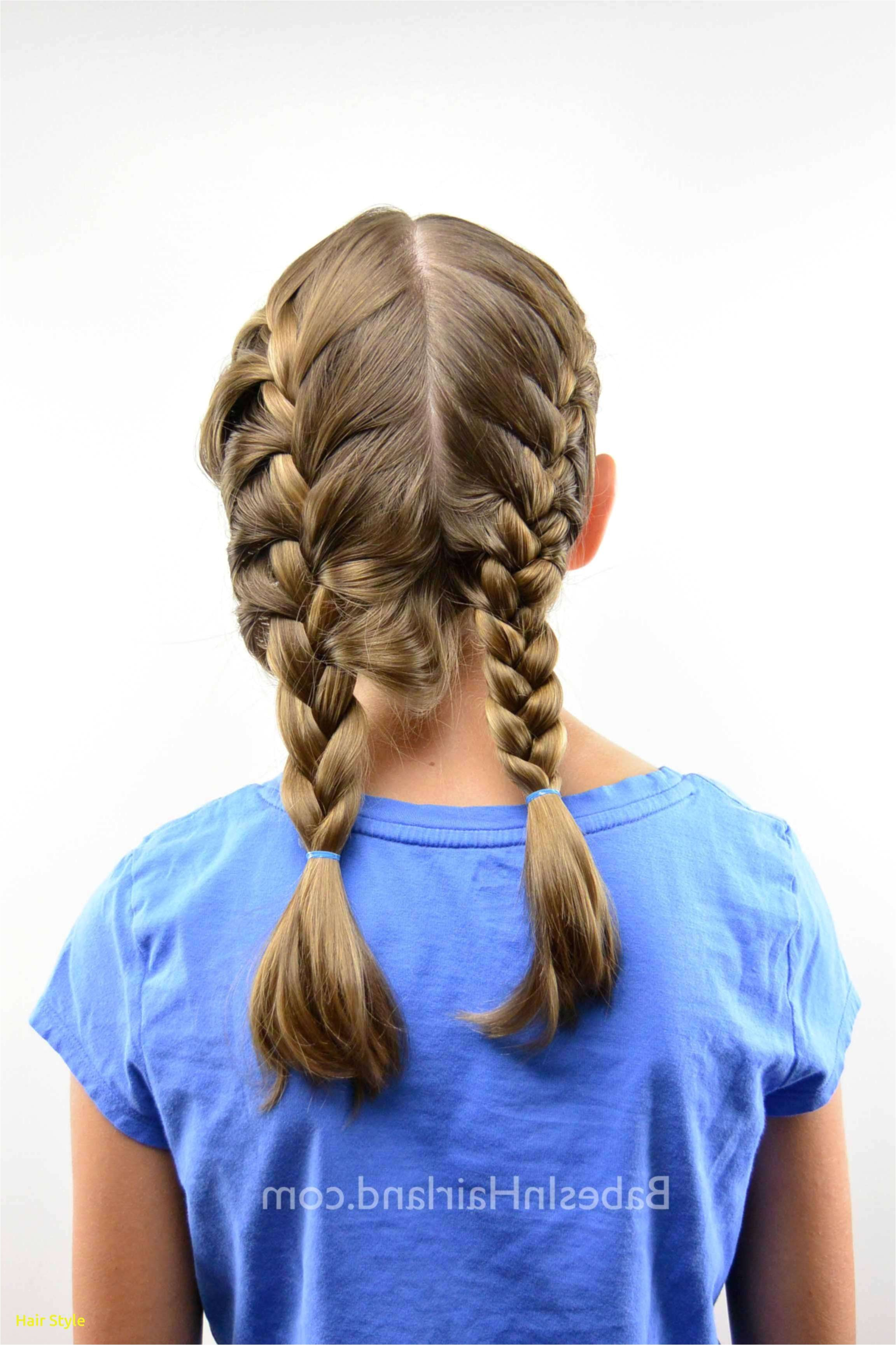 Braided Pigtails Hairstyle Fresh Pigtail Braids Short Hair