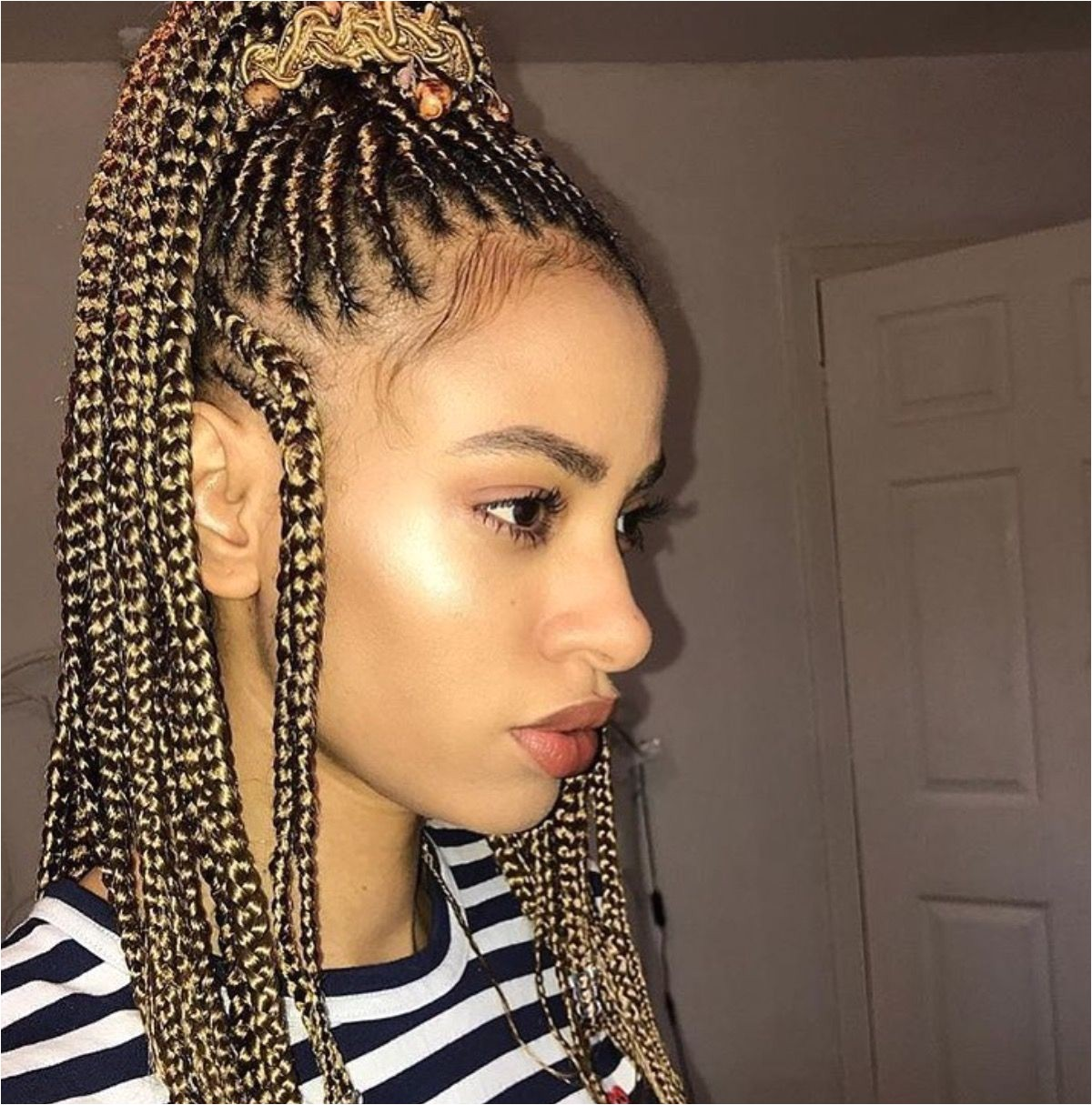 There s excellent news for each naturalist and braid lover the Fulani inspired braids are the newest hairstyles in the city thus this can be a must contend