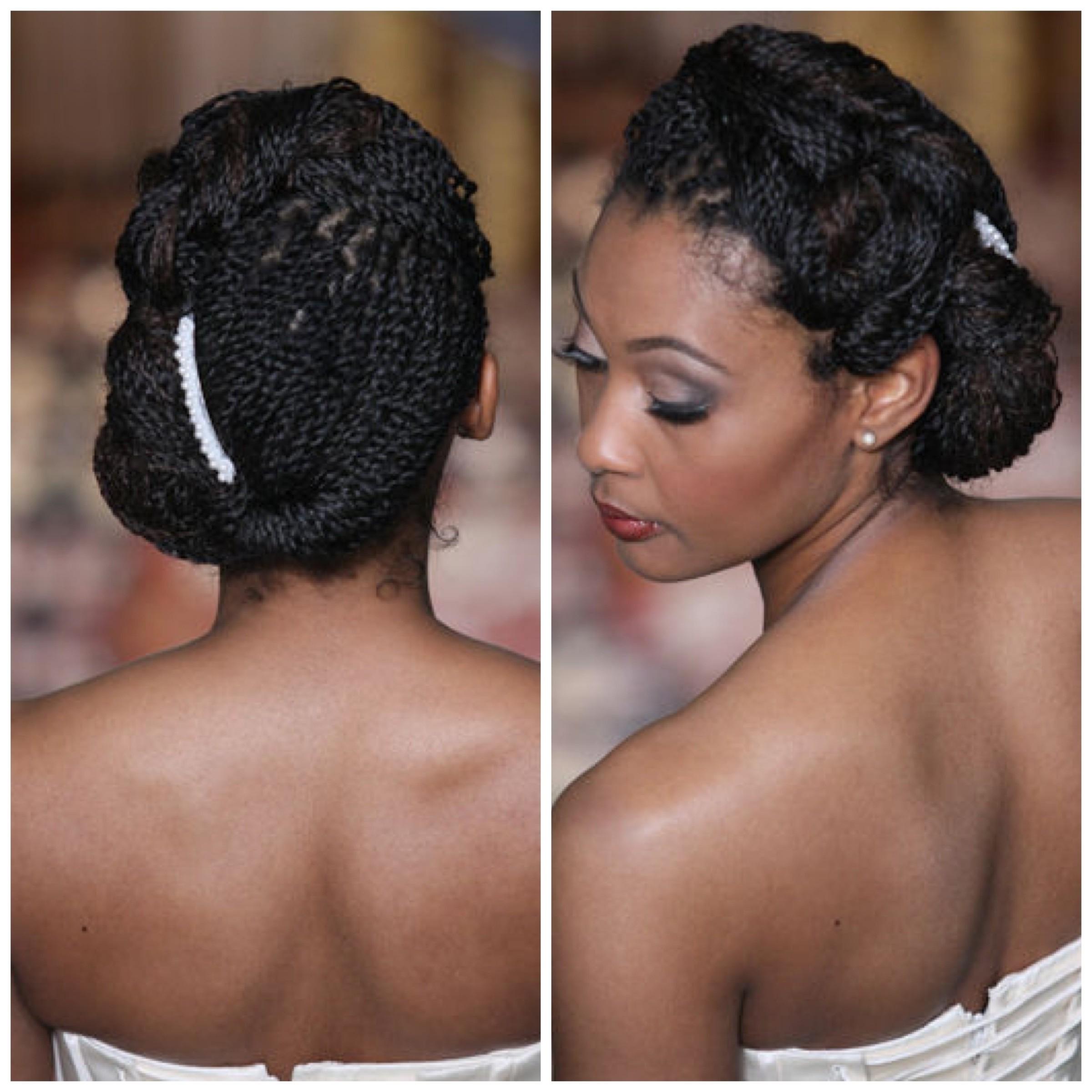 Pleasing Black Braids Updo Hairstyles Also Updo Black Braided