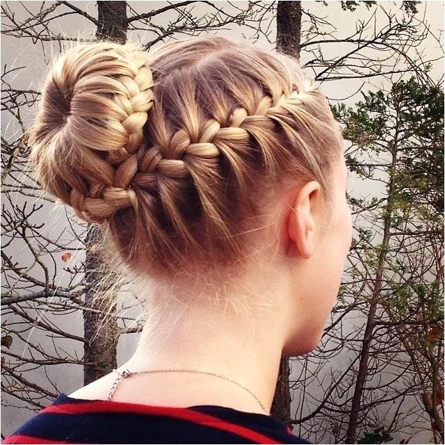 braided bun updos ideas