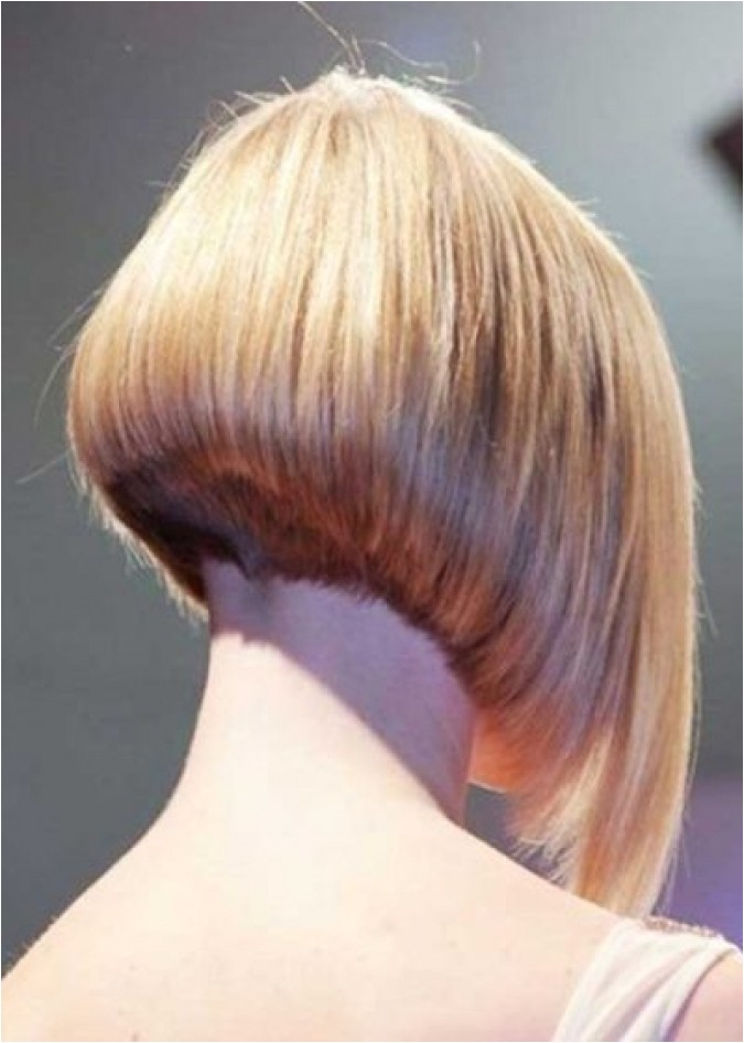 buzzed nape bob haircut for your own hairstyles top salon amazing hair party