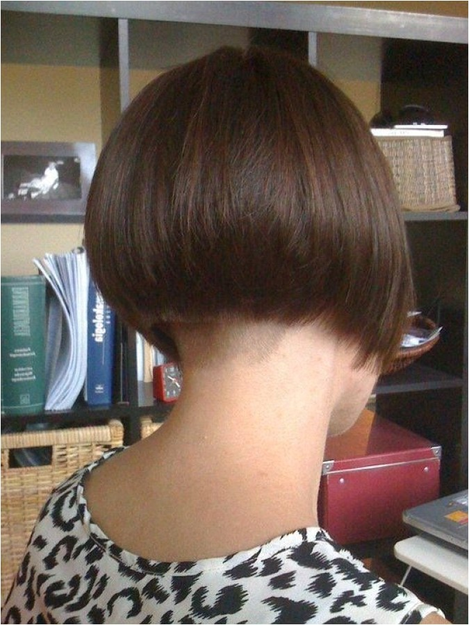buzzed nape bob haircut intended for your hair