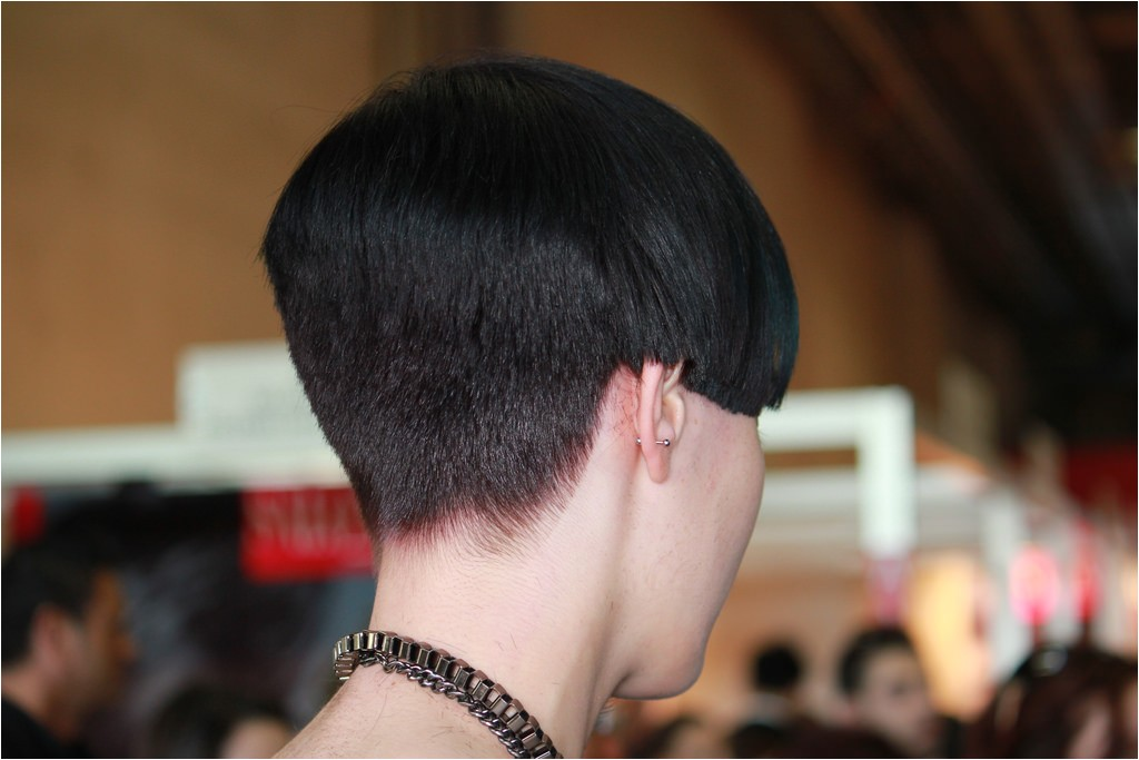 women clippered and buzzed haircut videos