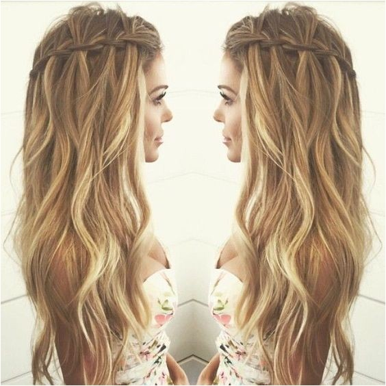 Casual Braided Hairstyles for Long Hair 10 Pretty Waterfall French Braid Hairstyles Different