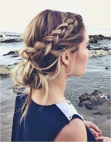 casual braids for long hair
