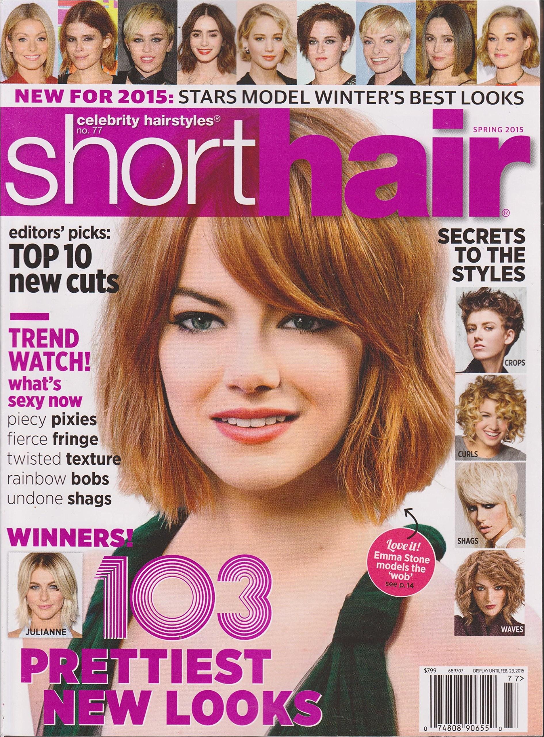short hairstyles magazine