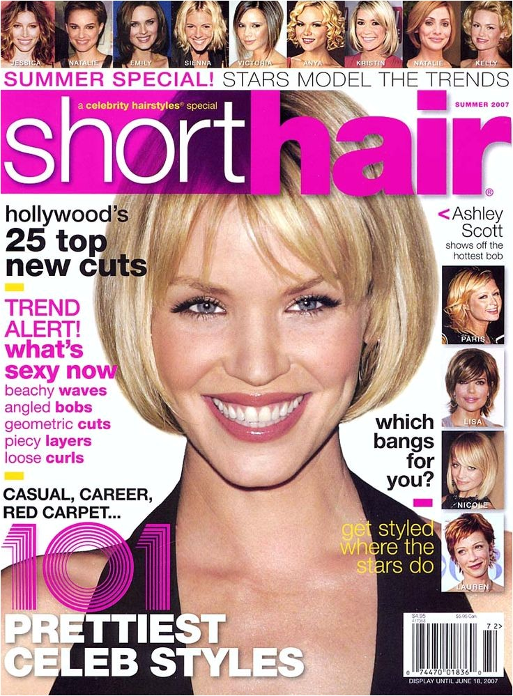 short hairstyles magazine subscription