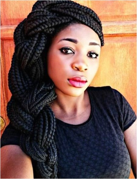 Chunky Braids Hairstyles 20 Iconic Box Braids Hairstyles
