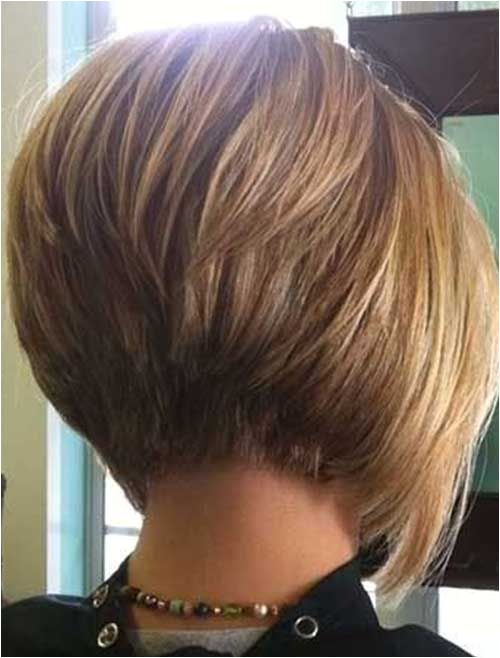 back view short classic layered bob hairstyles pinterest