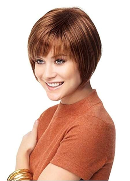 new short straight hairstyles