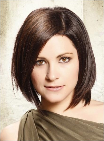 new arrival classic bob layered hairstyle medium straight full lace wig 100 human hair about 10 inches